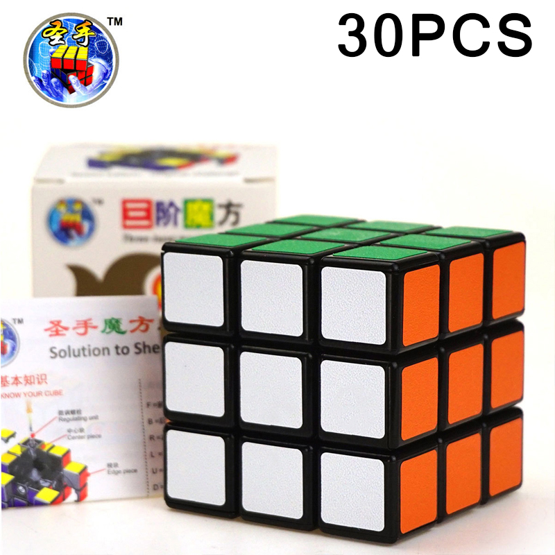 Liberal 30pcs Shengshou 3x3x3 Competition Magic Cube Professional Speed Challenge Puzzle Cube Educational Toys For Children Gifts At Any Cost Puzzles & Games Magic Cubes