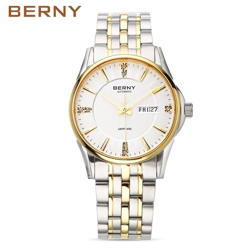 Berny Pánské hodinky Automatické Mechanické pánské hodinky - Pánské hodinky