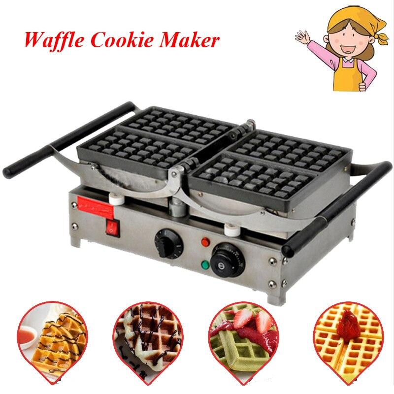 Популярные Вафля, Печенье чайник холодный сенсорный экстерьер машина для изготовления торта с гриля пресс таблички для ресторана FY 2201