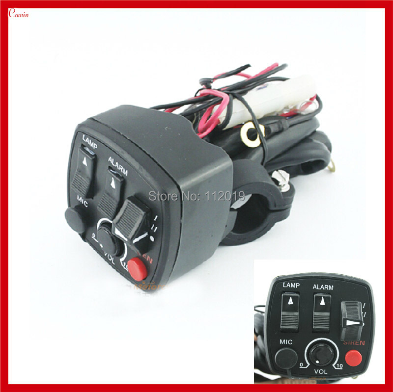 New Super Multifunction Refit Motorcycle Handlebar Switch, Motorcycle Power, Light, Turn Signal, Flash, Horn Switch Assembly Воск