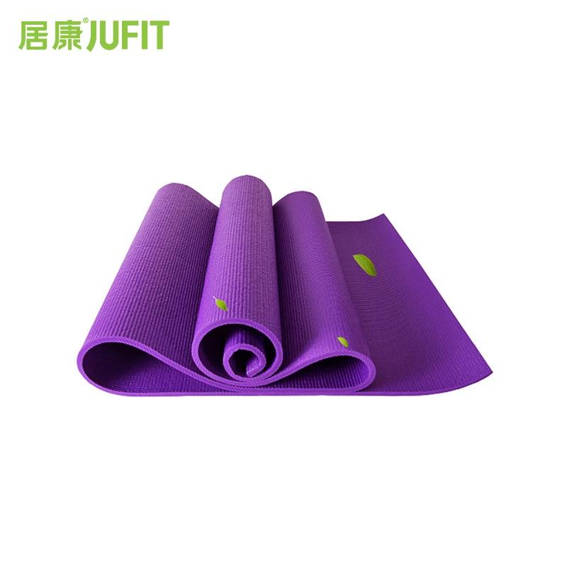 JUFIT 6MM PVC jogas paklājiņi sporta vingrošanas vingrošanai - Fitnesa un kultūrisms