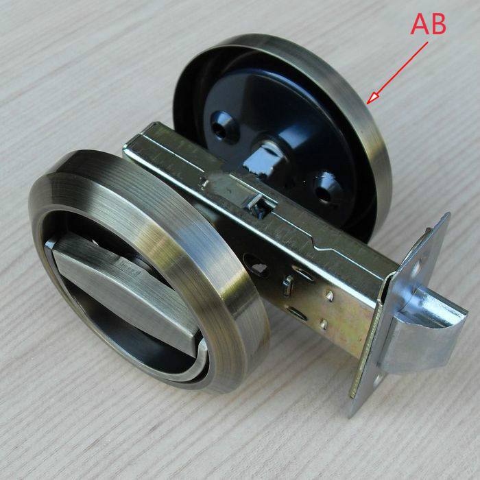 Stainless Steel 304 Recessed Cup Handle/ Privacy Door Locks Antique Bronze