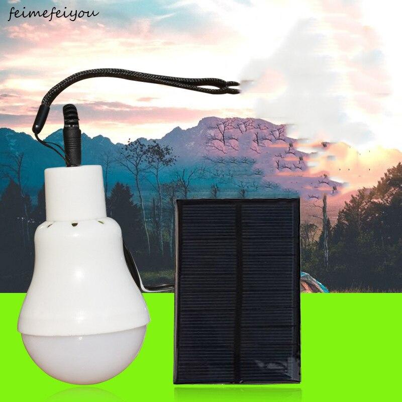 Solar bulb rechargeable work light bulb led emergency light bulb rechargeable beach light bulb