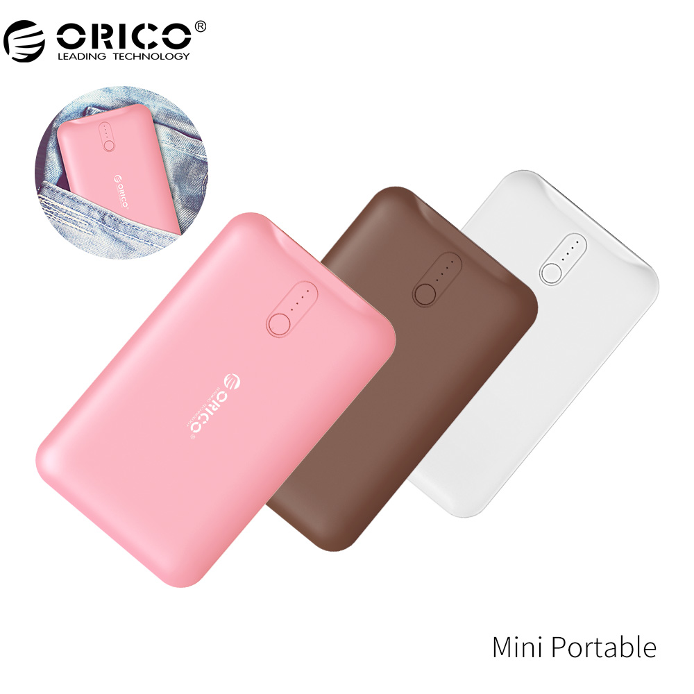 ORICO Energienbank 2500 mAh Scharge Polymer Energienbank Tragbare externe batterie Micro USB Für Handy