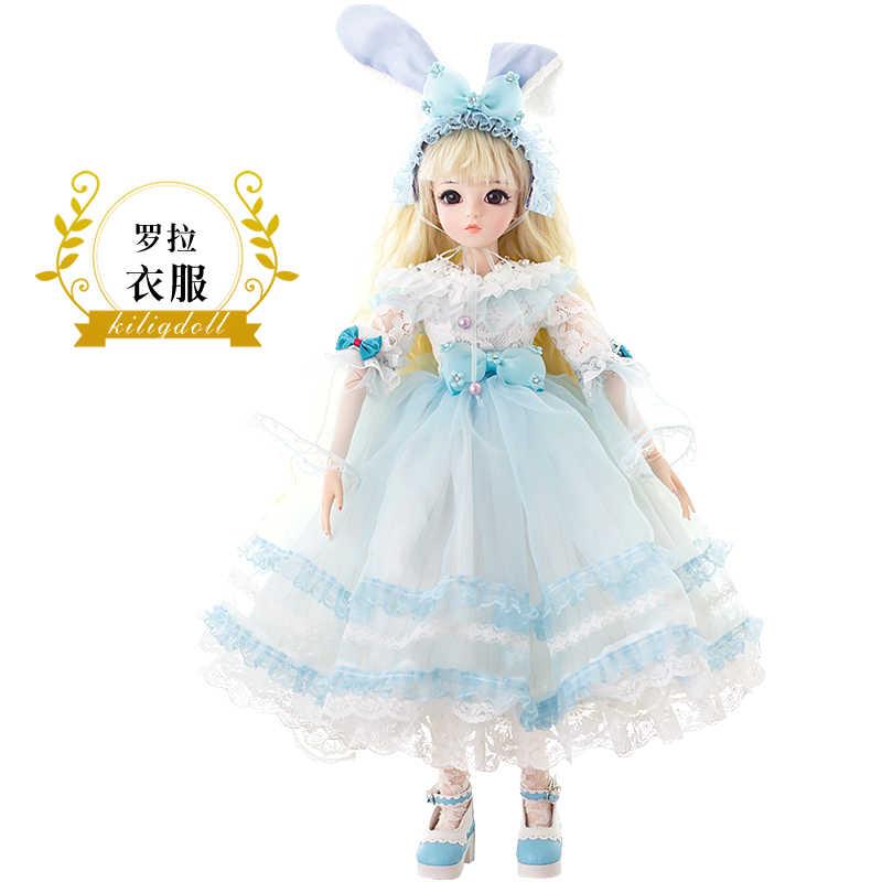 Бесплатная доставка EFLYNOVA BJD 60 см куклы игрушки высшего качества китайская Кукла 18 шарнир BJD шарнир Кукла Мода девушка подарок ролла