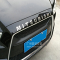 2010 2011 2012 2013 For Mitsubishi outlander pajero Engine Hoods 3D stick car accessories for For Mitsubishi ASX