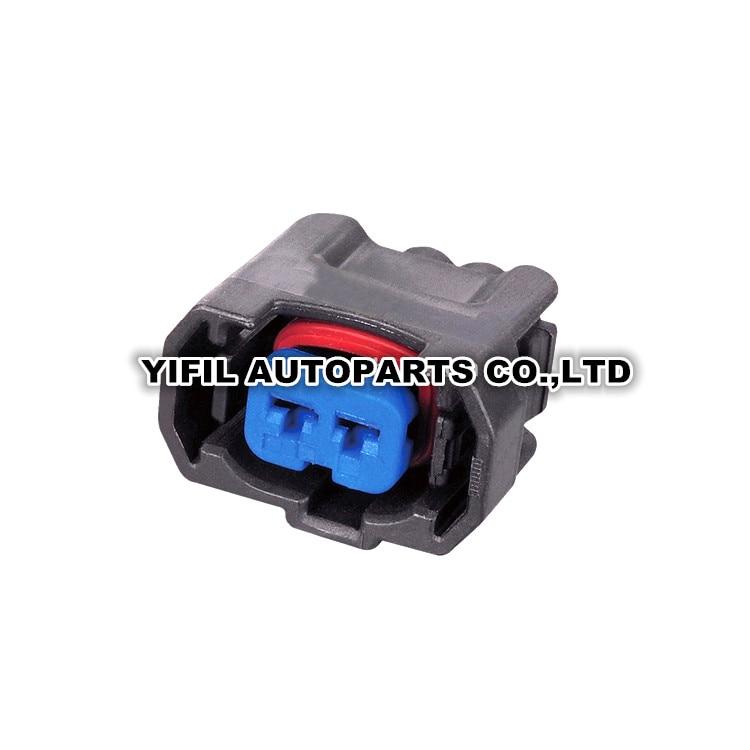 4x Toyota Lexus Scion 90980-11875 2-Pin Fuel Injector Connector Plug Clip Kit