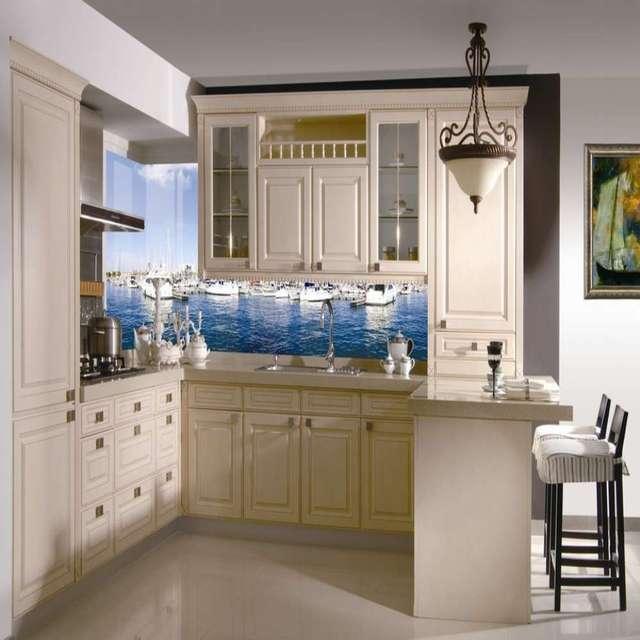 Diseño contemporáneo Blanco Tablero de Madera Maciza Muebles de ...
