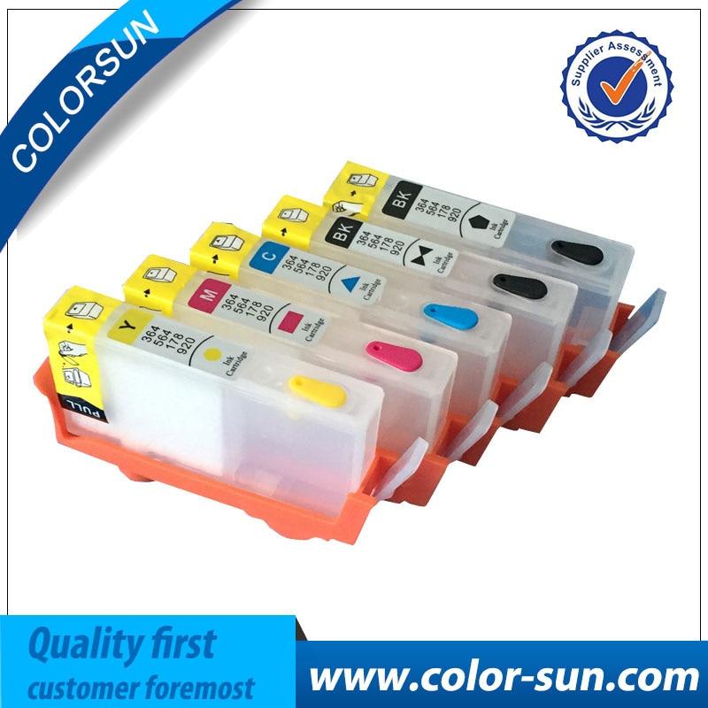 Pro HP 178 Pro HP178 plnitelná inkoustová kazeta Pro tiskárnu HP - Kancelářské elektroniky
