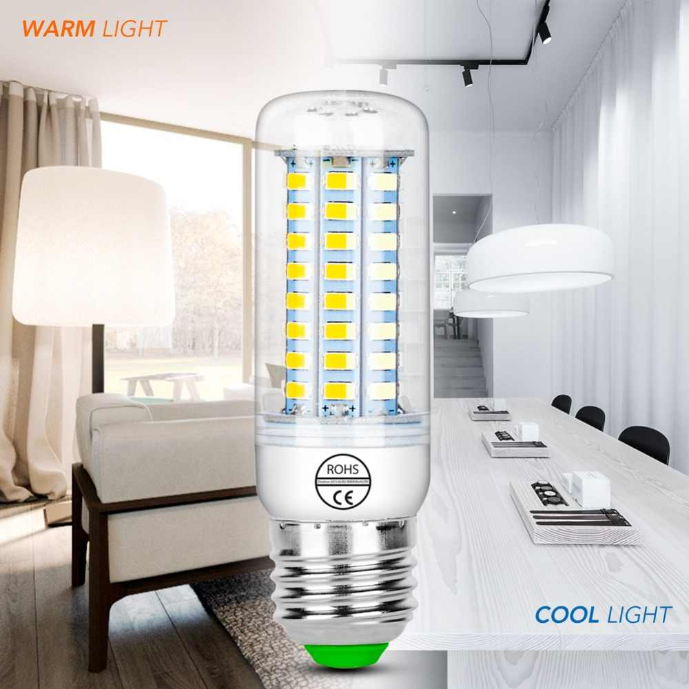 E27 LED Lamp E14 Corn Bulb Energy Saving Lighting Indoor Led 3W GU10 220V Candle Lights Bulb 5730 24 36 48 56 69 72led Bombillas