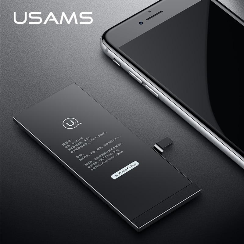 Pour iPhone 6 S Plus La Batterie USAMS Original Pour iPhone6S Plus Mobile  Téléphone Batterie Au Lithium Puissance Capacité 2750 mAh Banque avec Des  Outils ... 962273070f