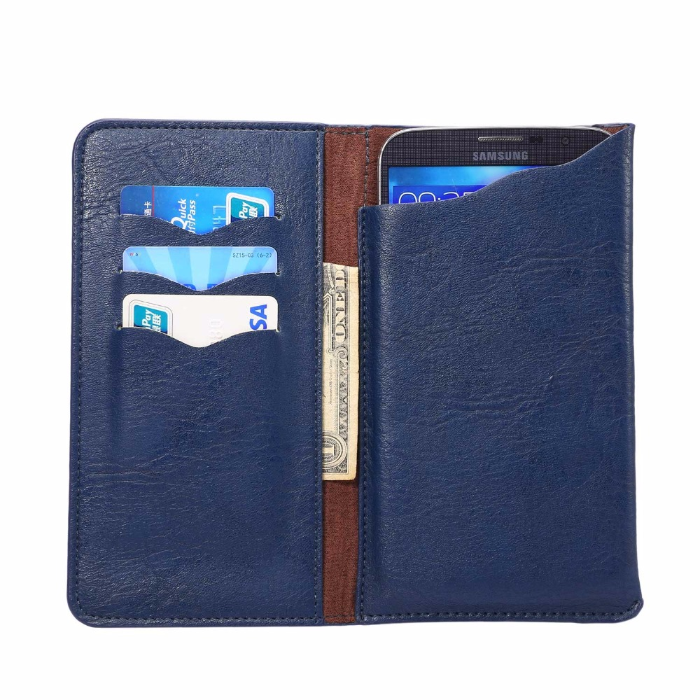 KSQ PU Leather Cell Phone Bag For Huawei Mate 8 Opening Holster Cover Pocket Wallet Pouch Case Fit For 5.7-6.3 inch Mobile Phone