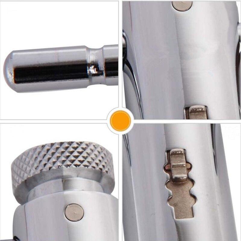 Регулируемый трещотка винт кран гаечный ключ держатель инструмент M3-M8 короткая ручка нарезание или резьба инструменты