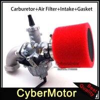 30mm Mikuni Carb VM26 Carburetor 45mm Air Filter Mainfold Intake Pipe For YX 140cc 150cc 160cc Engine Pit Dirt Bike Motocross