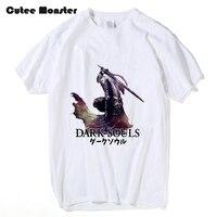 Dark Souls II 2 T shirt Mannen Artorias van de Abyss Solaire van Astora Lof de zon Mens & Womens Printing Top Tee Custom T-shirt