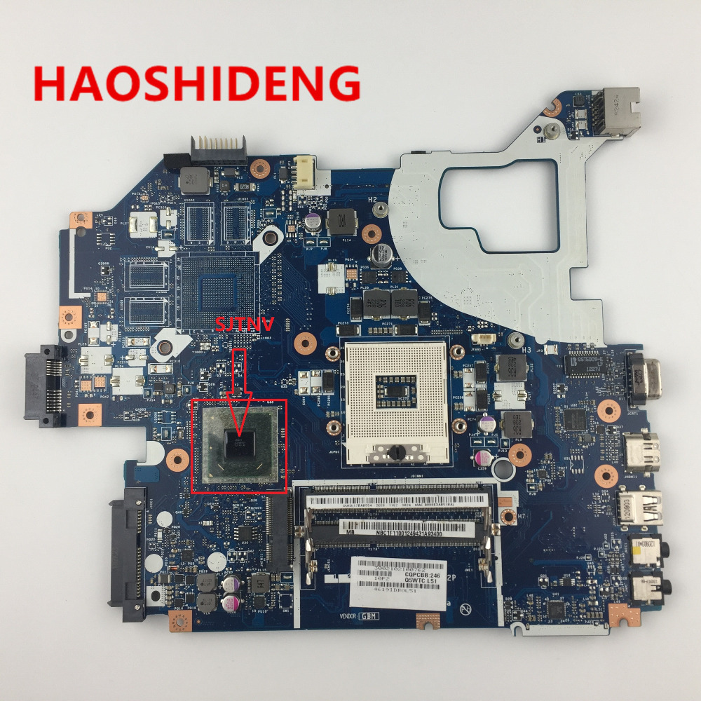 For Acer Aspire V3-571G E1-571G Laptop Motherboard Q5WVH LA-7912P SJTNV chips HM70 .All functions fully Tested ! original laptop motherboard for acer aspire v3 571g e1 571g nv56r q5wvh la 7912p nbc1f11001 hm70 pga989 ddr3 fully tested