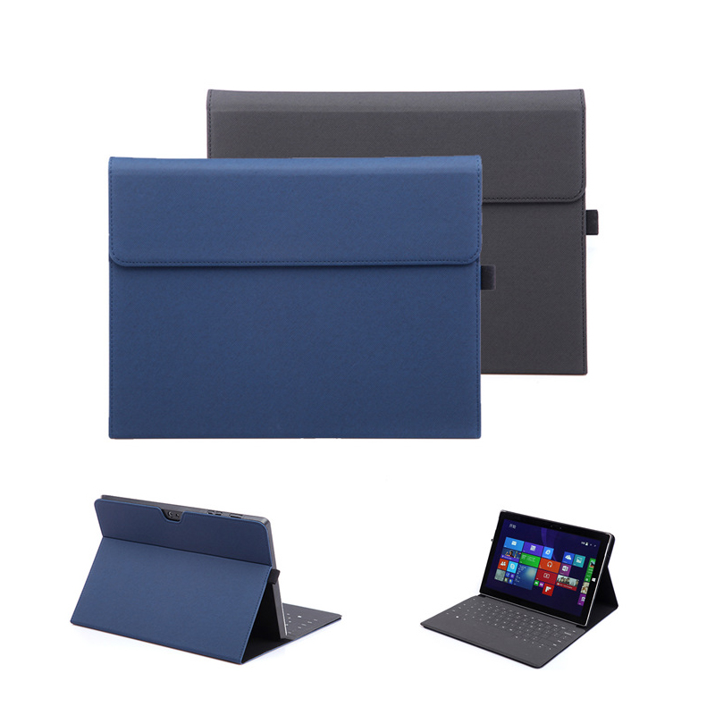 Laptop Stand Case for Microsoft Surface Pro 4 Foldable Tablets Cover for Surface New Pro 5 Notebook Case for New Surface Pro bottom cover for microsoft new surface pro 5 housing back cover case rear casing housing replacement repair part
