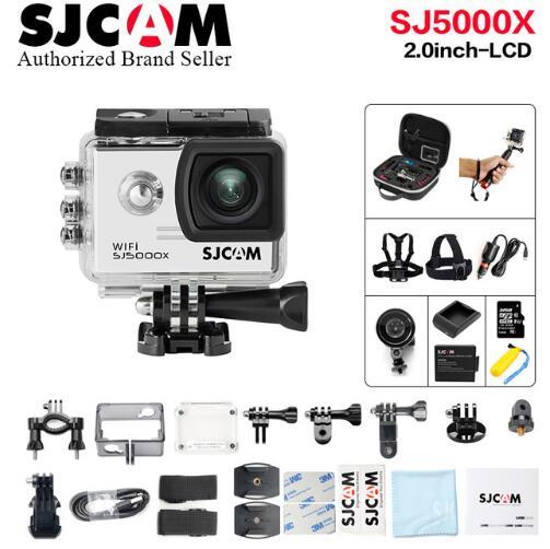NTK96660 Original SJCAM SJ5000X Elite caméra d'action 4 K sport DV WiFi Gyro plongée 30 M étanche SJ Cam Mini caméscope 2