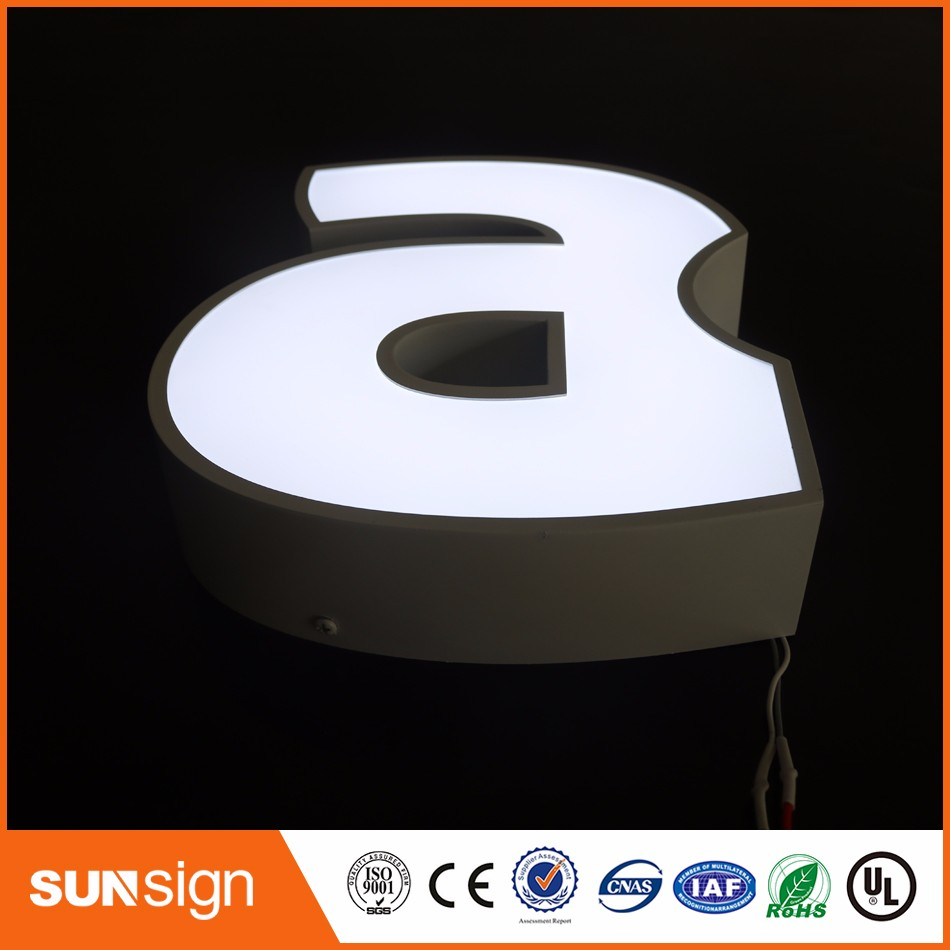 Aliexpress Factory Outlet Custom Outdoor Advertising Acrylic 3d Sign Letters