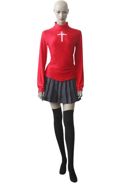 2016 newest halloween party dress for sale FateStay Night Rin Tosaka font b Cosplay b font