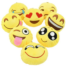 Cute Mini Emoji mobile cell phone Key plush hanging Pendant Bag charm accessory sets birthday wedding gifts for guest iphone 8pc new novelty mini bag charm flamingo faux fur key bag charm gift for children girls cute emoji pendant nl11