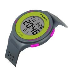 SB0032 Multi-Function Water Resistant Παιδικά ρολόγια Παιδικά μάρκα Παρακολουθήστε ταξιδεύοντας φως LED ρολόγια ψηφιακών ρολογιών χειρός