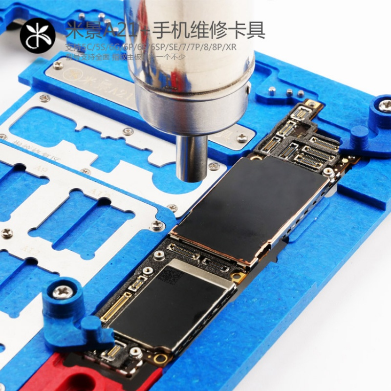 Купить с кэшбэком Maintenance Fixture MJ A21 + iPhone 5S/6/6S/6SP/7/7P/8/8P/XR for chip fixture of A7 A8 A9 A10 logic board