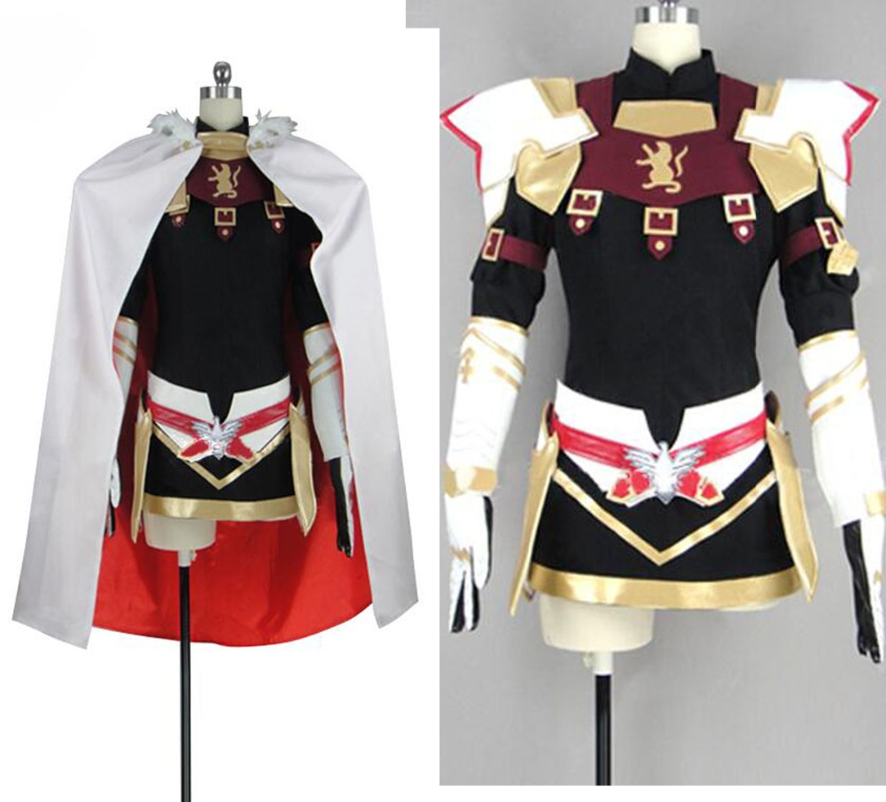 Fate grand order stay night zero Apocrypha Astolpho Astolfo Cosplay Carnaval Costume Halloween dress Outfit Custom
