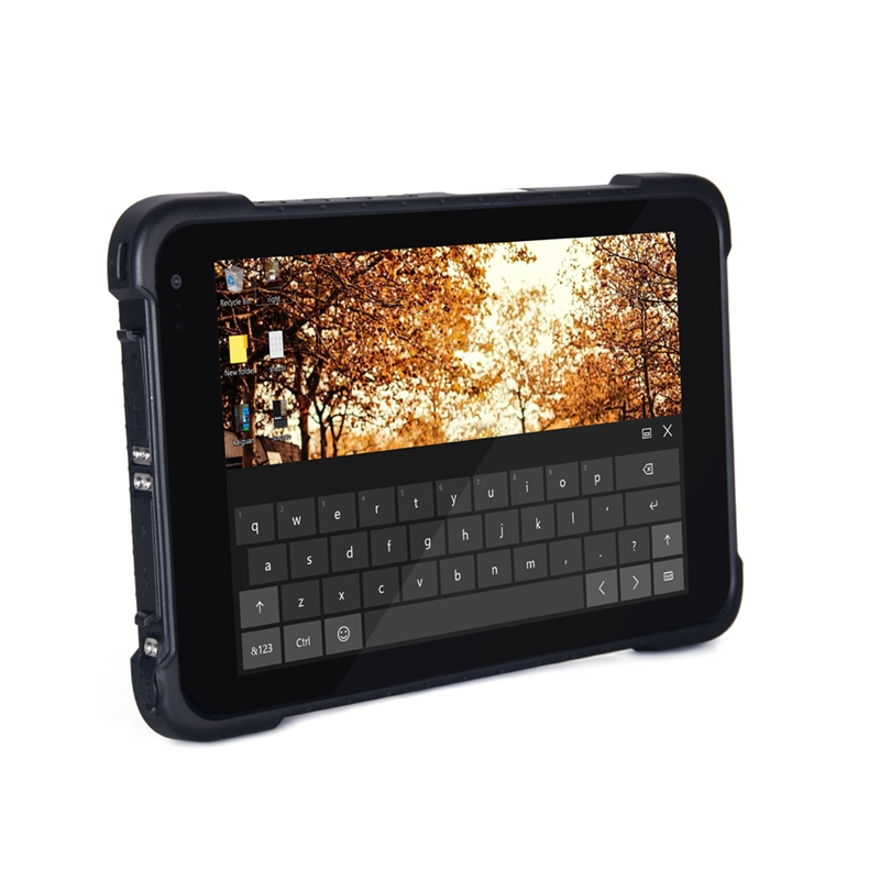 8 inch 4GB 64GB Windows 10 Tough PAD Rugged Tablets PC for Outside Working With 4G LTE