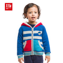 kids baby coat cashmere thicken coat cotton padded clothes for baby winter coat with cartoon cap