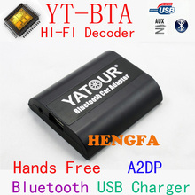Yatour BTA car radio Bluetooth hands free kit for Honda Accord Civic CRV Odyssey Pilot Fit Element A2DP Music