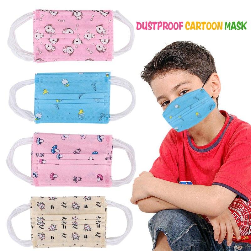 Одноразовая маска 10 шт. прочная Пылезащитная маска Outsports детская маска для лица универсальная Велоспорт