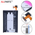 Allparts ORIGINAL BOP6B100 2600mah Li-ion Mobile Phone Battery For HTC One M8 Battery One 2 W8 M8T M8W M8D Replacement Parts