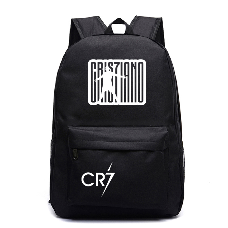 Cristiano Ronaldo Backpack Beautiful CR7 Rucksack Students School Backpack Back To School Gift School Bags Boys Girls Backpack