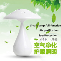 New Mushroom Eye Protection Led Reading Lamp USB Powered Touch Sensor Dimmer Led Desk Lamp with Air Purification function