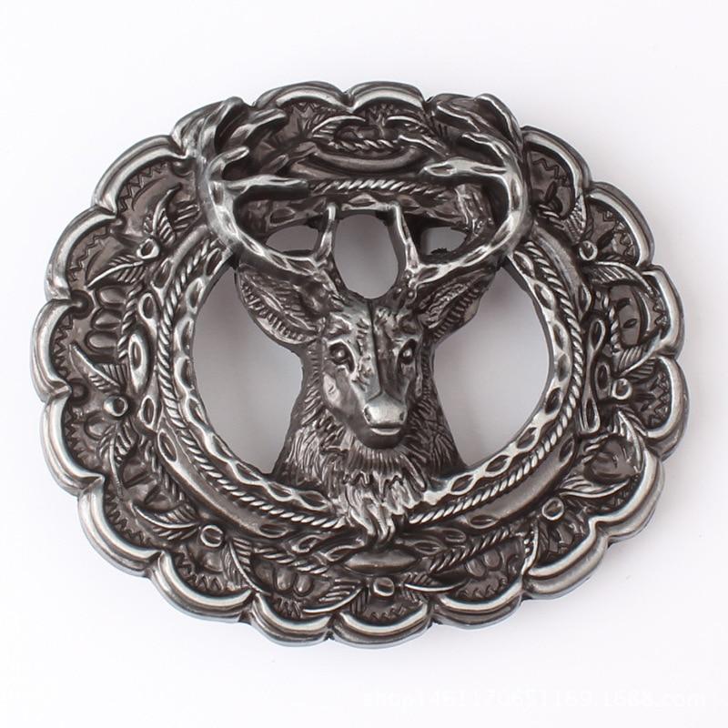 Animal Motifs Belt Buckle The Head Of A Deer
