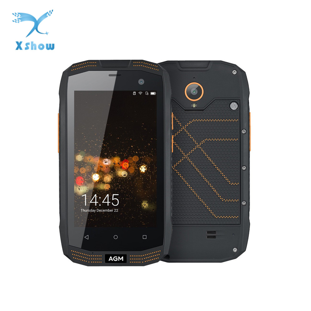 AGM A2 RIO 4 0 IP68 Waterproof Shockproof Rugged Smartphone Android 5 1 Quad Core 2GB