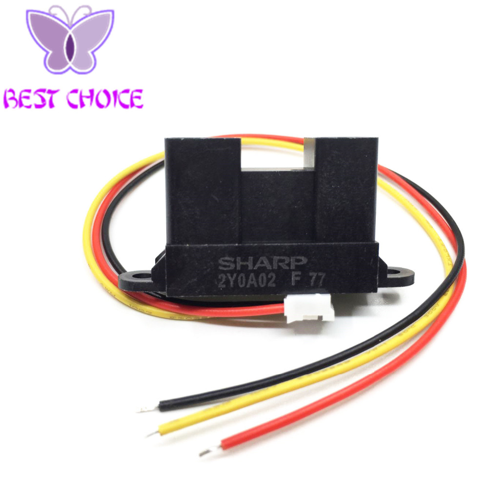 10pcs GP2Y0A02YK0F Infrared Proximity Sensor Detect 20 150cm with Cable