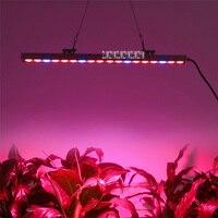 8 unids/lote lámpara de tira de plantas de alta calidad 81W impermeable lámpara LED para cultivo de plantas de alta calidad para plantas/cultivo de flores vegetales 100-240V