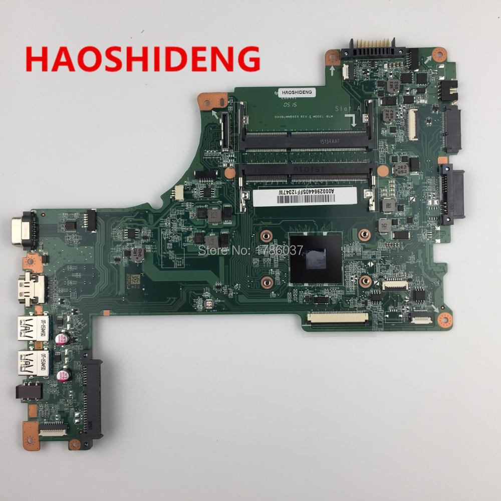 A000296440 DA0BLMM6E0 For Toshiba Satellite L50D L55D L50D-B L55D-B series laptop motherboard .All functions fully Tested ! a000302740 da0blimb6f0 for toshiba satellite s50 l50 b l50t b series motherboard with i5 5200u all functions fully tested