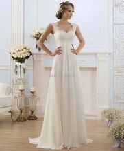 Vestido De Novia Vestido Estoque EUA Tamanho 4-22 Branco/Marfim Apliques A-line vestido de Noiva Vestido de Noiva Vestido de Noiva vestidos De Robe De Mariee(China (Mainland))