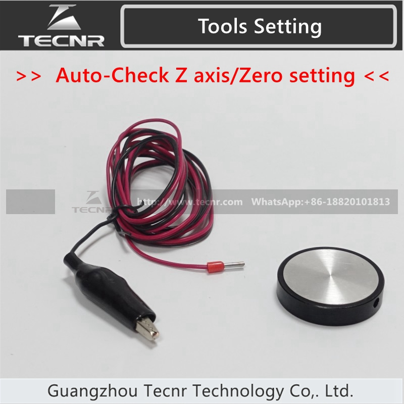 CNC Router Engraving Machine Tools Setting Auto-Check Z axis Instrument Zero setting sensor