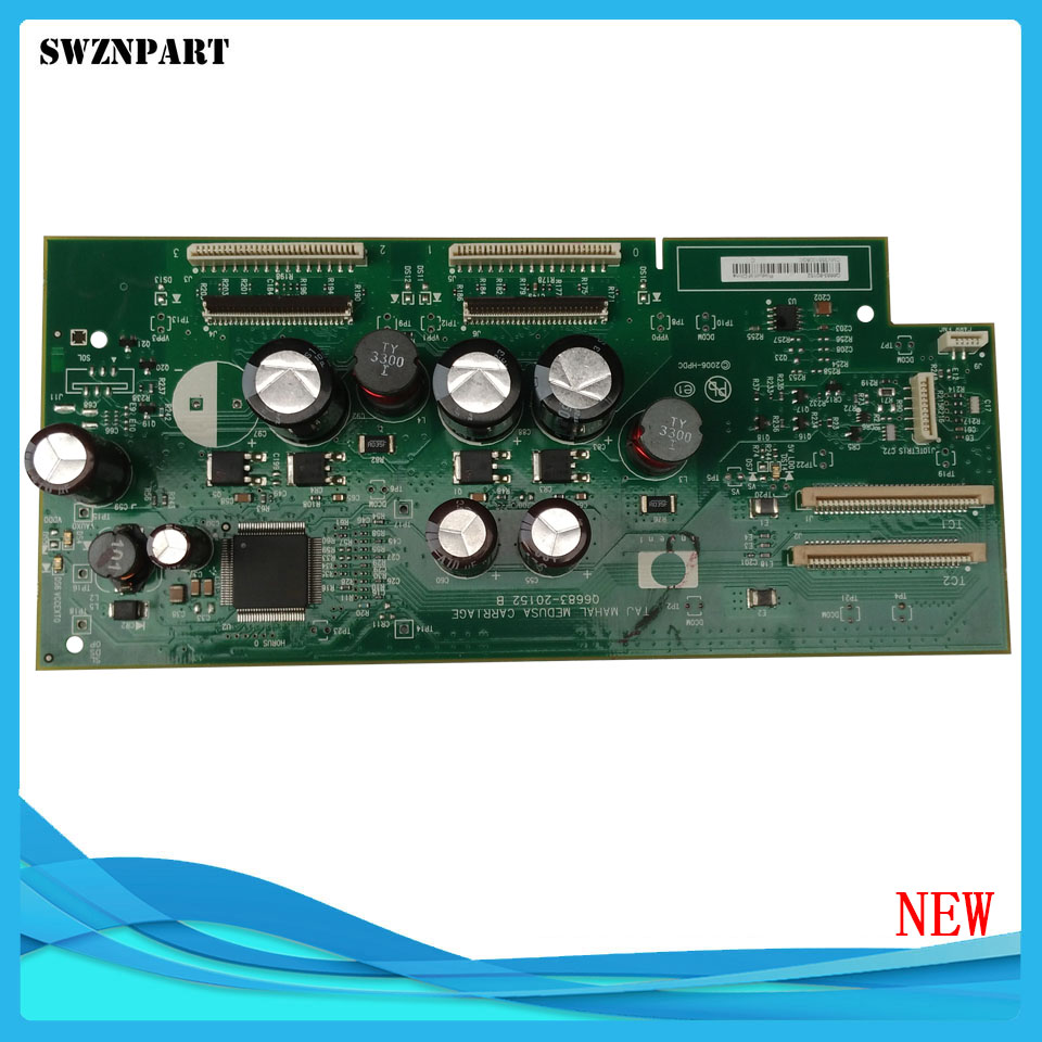 NEW Carriage PCA Board Carriage Board Q6683-67032 Q6687-67012 For HP Designjet T610 T1100 for hp1100 t1100ps t610 40g hard drive hdd formatter without new q6683 67027 q6683 67030 q6684 60008 q6683 60193 q6683 60021