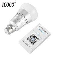 Wifi Control E27 Smart Bulb Smart Lighting Lamp Smartphone Controlled Light 2018 New