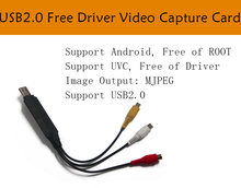 High Guality USB 2.0 Capture Card Converter PC Adapter TV Audio DVD DVR VHS support android