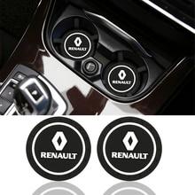 1 шт. автомобильный-Стайлинг ПВХ автомобильный нескользящий коврик чехол для Renault duster megane 2 megane 3 capture fluence clio kadjar scenic 2