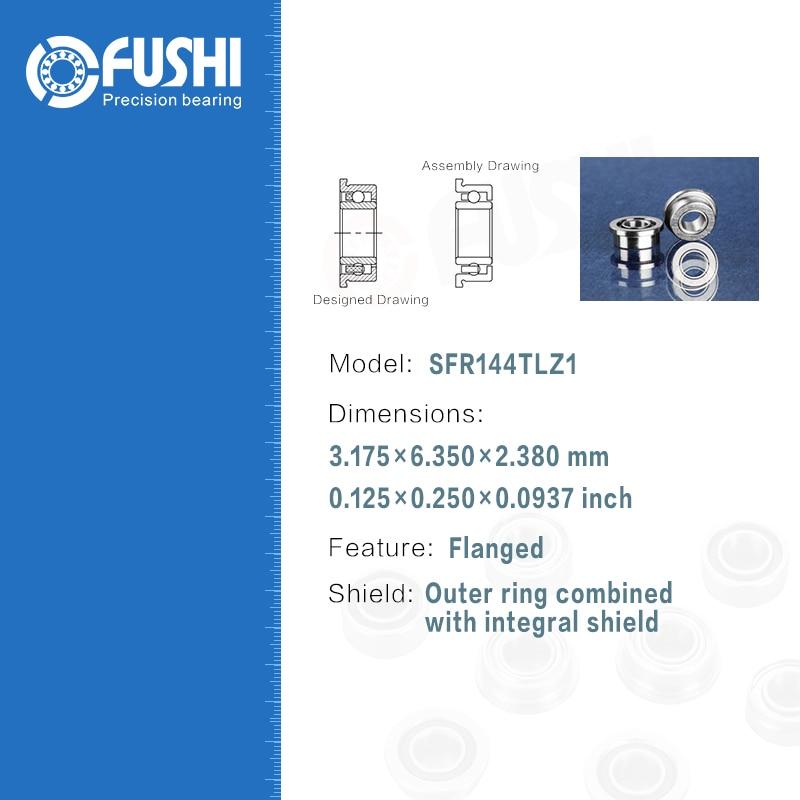 Dental Bearing SFR144TLZ1 ( 4 Pcs ) ABEC-7 P4 Grade For W&H Handpiece Turbine High Speed SFR144 TL Z1 Dental Drill Bearings 1pcs 71901 71901cd p4 7901 12x24x6 mochu thin walled miniature angular contact bearings speed spindle bearings cnc abec 7