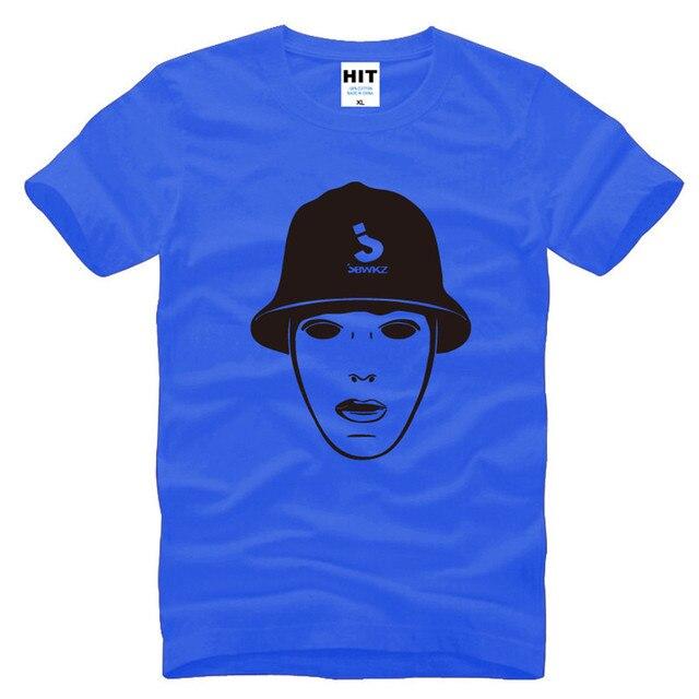 Jabbawockeez Mask Hip hop Mens Men T Shirt T-shirt 2016 Novelty Short Sleeve O Neck Cotton Tshirt Tee Camisetas Masculina 2