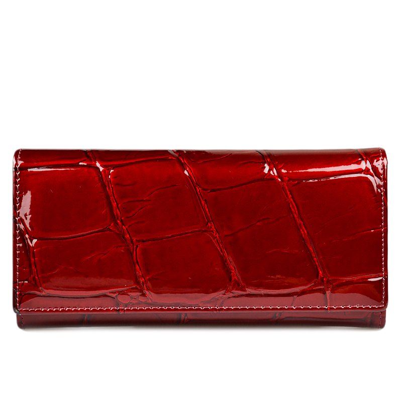 2018 new Women wallet Genuine Leather feminine Clutch Wallets Luxury Magnetic Buckle Ladies Long Purse Coin Purses Money Bag danjue leather ladies wallet 11 card slot women purse trendy clutch long money bag buckle 13 candy color women wallets