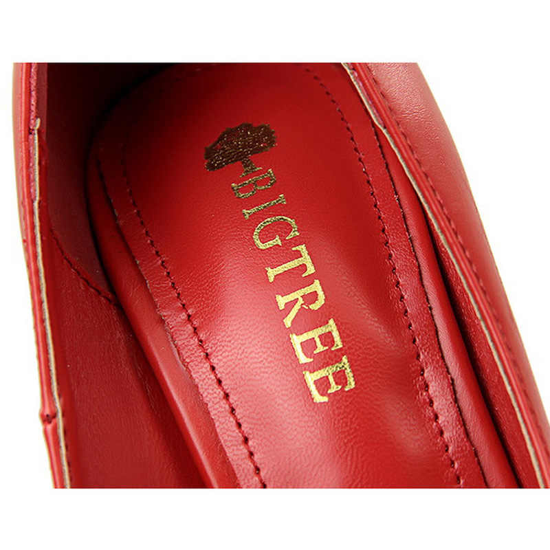 2019 Nuove Donne Pompe Dolce Farfalla-nodo Delle Donne Degli Alti Talloni Sexy Scarpe Da Donna Dell'unità di elaborazione di Modo Scarpe Da Sposa Rosso Nero a spillo